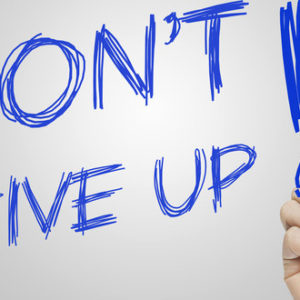 Reflections: Don't Give Up On You