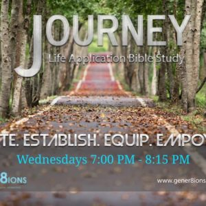 Journey Life Application Bible Study: God Is Starting Something Good In Me