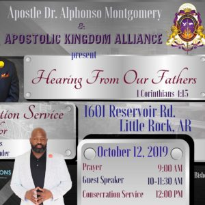 Hearing From Our Fathers – Bishop Robert E. Smith